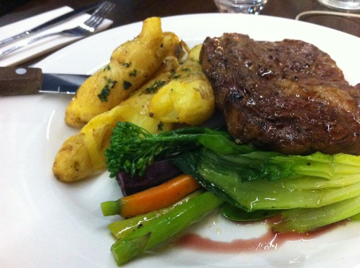 Grass-fed meat and veg