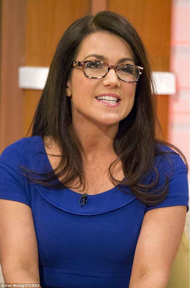 Painful: The news anchor told viewers she ditched her usual contacts in favour of specs be...