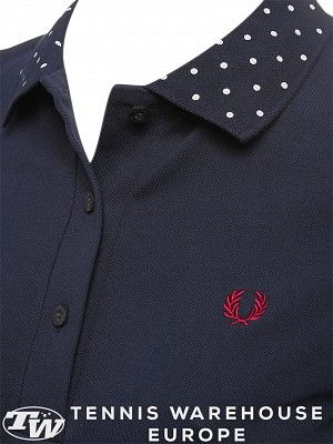 Fred Perry Women's Polka Collar Polo