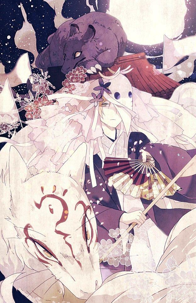 Tags: Anime, Natsume Yuujinchou, Pixiv, Natsume Takashi, Madara