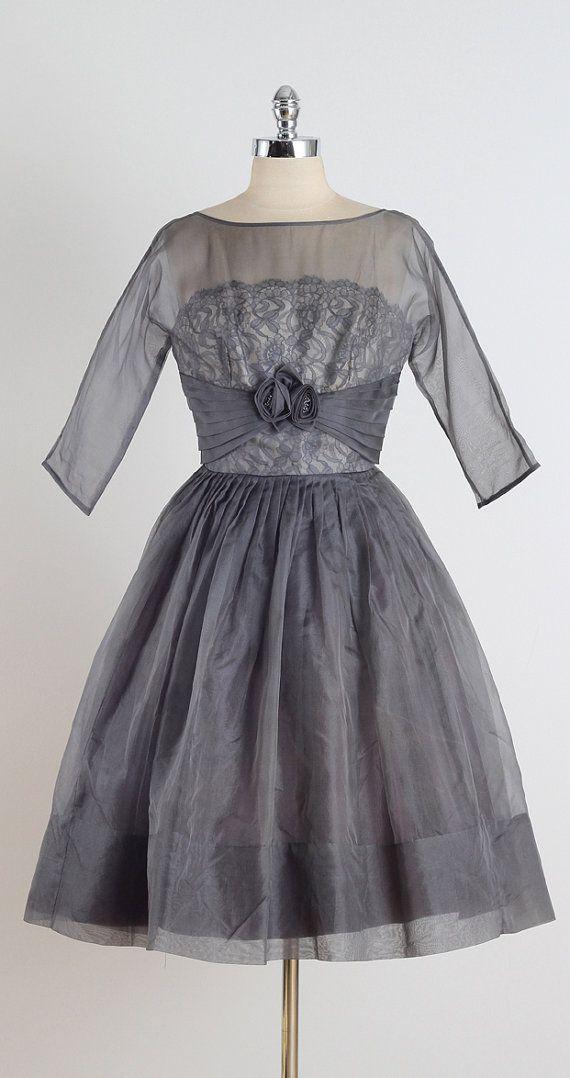 1950's Organza Dress