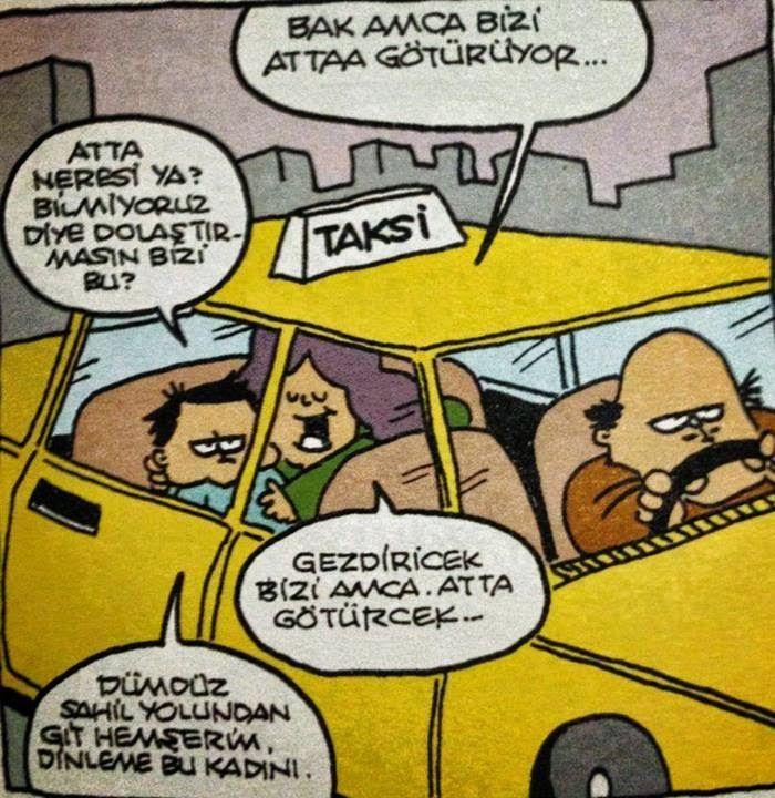 Komik Karikatürler: Atta Karikatürü Özer Aydoğan