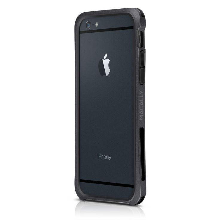 "Macally Flexible Protective Case Bumper (IRONP6M-B) Black (iPhone 6-4.7"") - myThiki.gr - Θήκες Κινητών-Αξεσουάρ για Smartphones και Tablets - Macally IronRim Black"