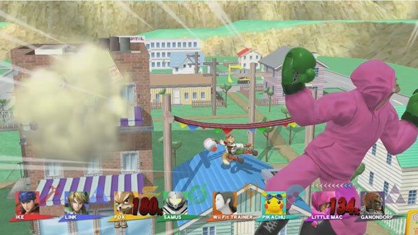 See Super Smash Bros. For Wii U's Meticulous Stages Behind The Camera