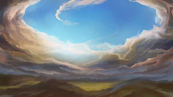 Arina Kane artwork Skyfall  #Kairi #Kairiartist #ArinaKane #art #artwork #illustration #deviantart #digitalart #drawing #sky #clouds #inspiration #sai #photoshop #pinterest #patreon