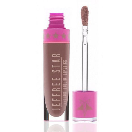 """Celebrity Skin Jeffree Star Cosmetics Liquid Lipstick Celebrity Skin - this soft brown nude with a peachy undertone will be everyones """"go-to"""" fav!Jeffree Star Cosmetics liquid lipstick goes on opaque, dries completely matte and stays on for hours!This product is 100% vegan,cruelty-free, paraben and gluten free!Before use: exfoliate then apply to bare lips! Aavoid food with oil5.6ml"""