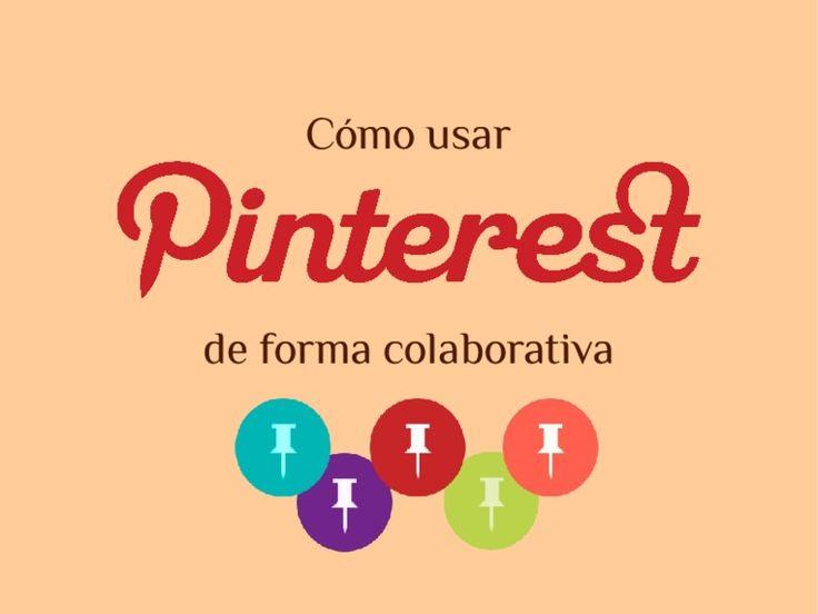Uso colaborativo de Pinterest