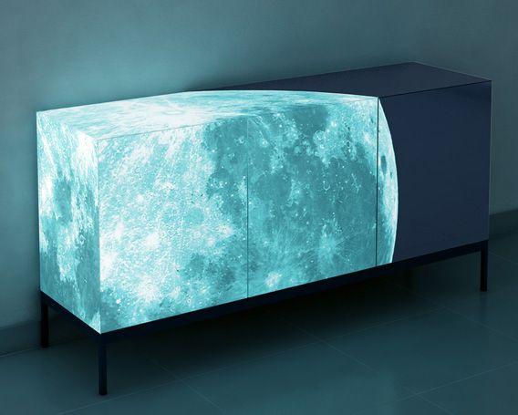 Gelo - moon credenza