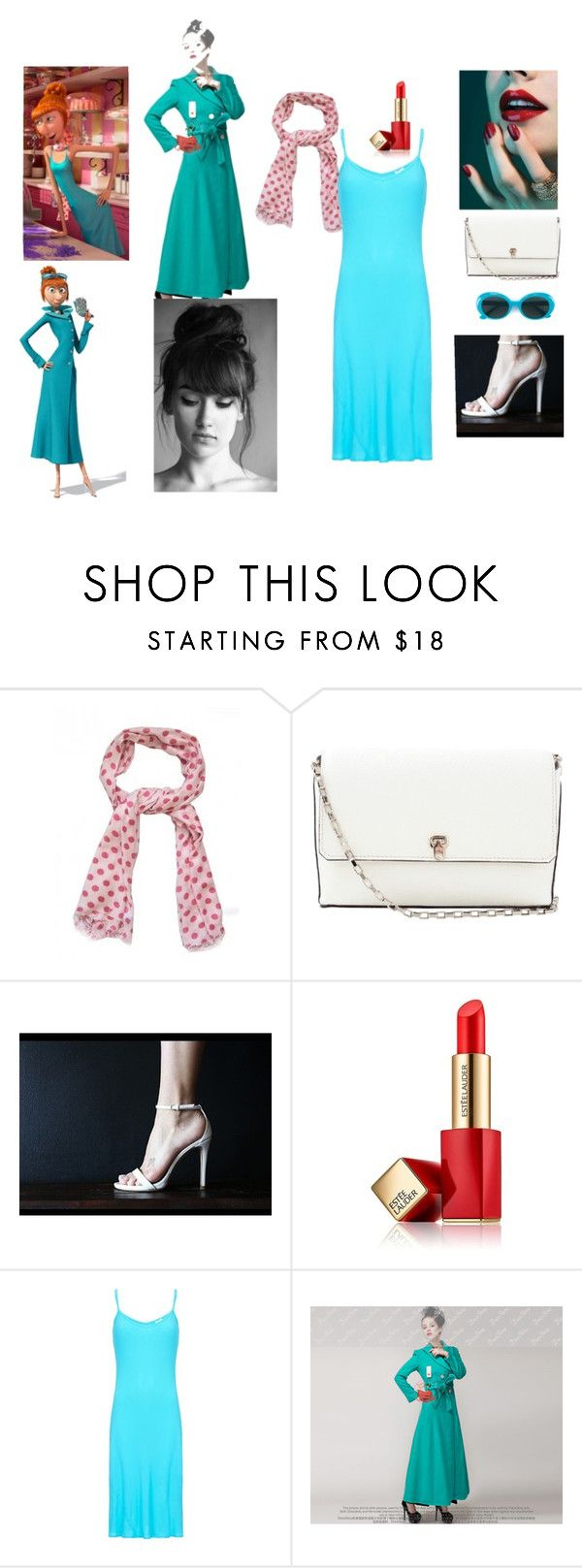 """Lucy Wilde"" by karrah-s on Polyvore featuring Valextra, Estée Lauder, Ghost and Yves Saint Laurent"