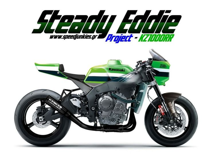 Kawasaki KZ1000RR Cafe Racer Endurance project - Speed Junkies #motorcycles #caferacer #motos | caferacerpasion.com