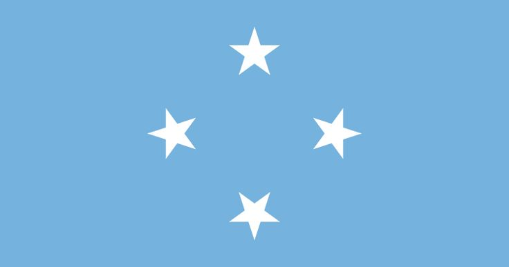 Fichier:Flag of the Federated States of Micronesia.svg
