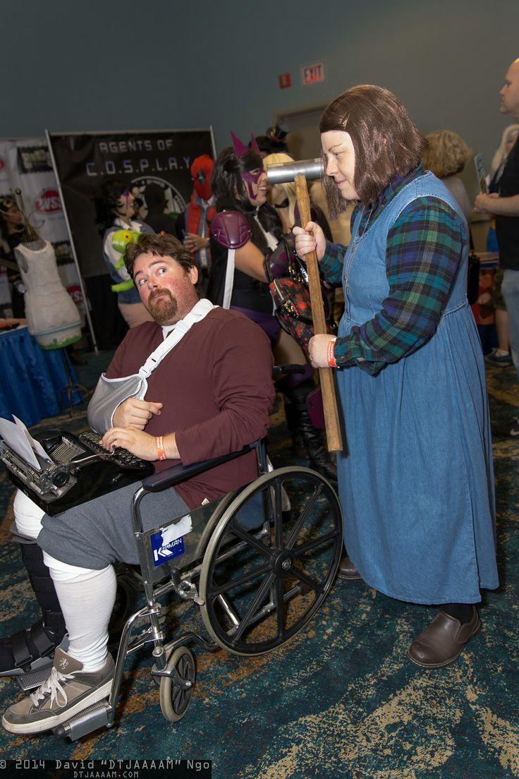 Paul Sheldon and Annie Wilkes -  Long Beach Comic Expo 2014