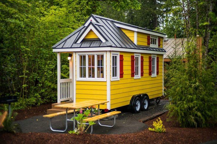 Фото: Небольшие, но невероятно уютные домики (Фото)