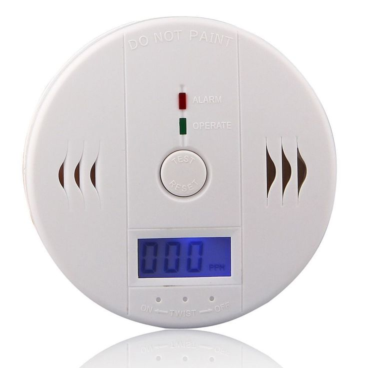 High Quality 85dB LCD CO Gas Sensor Carbon Monoxide Independent Poisoning Alarm Detector Tester for Home Security