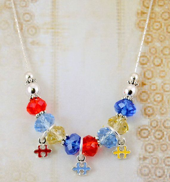 90 best Handmade Autism Awareness Jewelry images on Pinterest