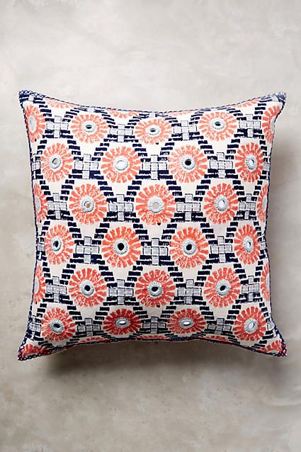 Throw Pillows Luxury : John Robshaw Rafa Pillow Throw pillows, Anthropologie and Decorative throw pillows