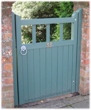 Customer Corner~ Gate-Expectations - Wooden gates and garage doors we have manufactured for previous customers