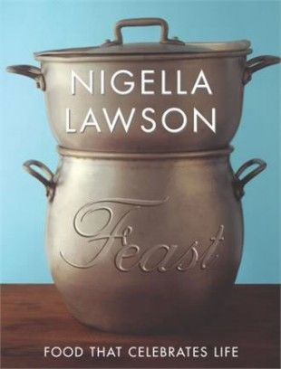 Nigella Lawson - Feast. This book should be kept on the top shelf. The way Nigella writes about cooking gets me all hot and bothered (and hungry!)