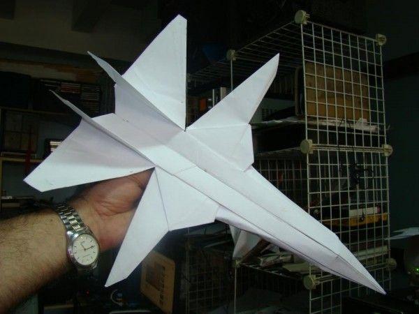 Jet F-14 TomCat - origami