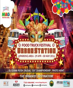 "Foodtruck Festival ""Urban Station"" 2016 http://www.perutgendut.com/read/foodtruck-festival-urban-station-2016/1286 #Event #Food #Kuliner #Indonesia"