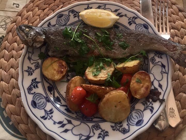 Summer fresh dinner... How to prepare fish... #siluetyogawear #madewithloveforyou