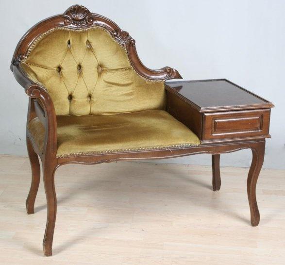En cool möbel i Rokokostil