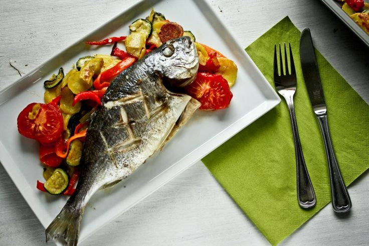 """Foodblog """"Kochnische"""": Dorade Fisch, der sich selbst zubereitet"""