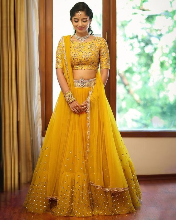 b2764a35d9 20 Beautiful Lehengas For The Contemporary Indian Bride Who's Not Afraid To  Break Some Rules