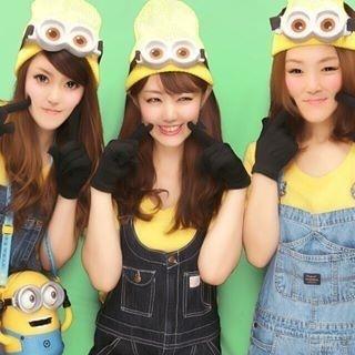 ハロウィンコスプレはミニオンに決まり☆②黄色ニット帽×でかゴーグル