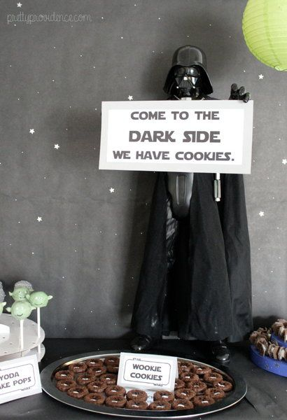 how to decorate a star wars themed party for cheap   food, decor and kids games on pretty providence