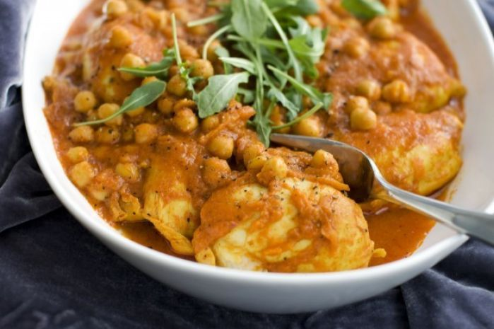 A chicken curry that is speedy, easy and delicious