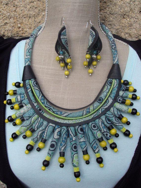 www.cewax.fr aime les bijoux colliers ethniques Medidoi