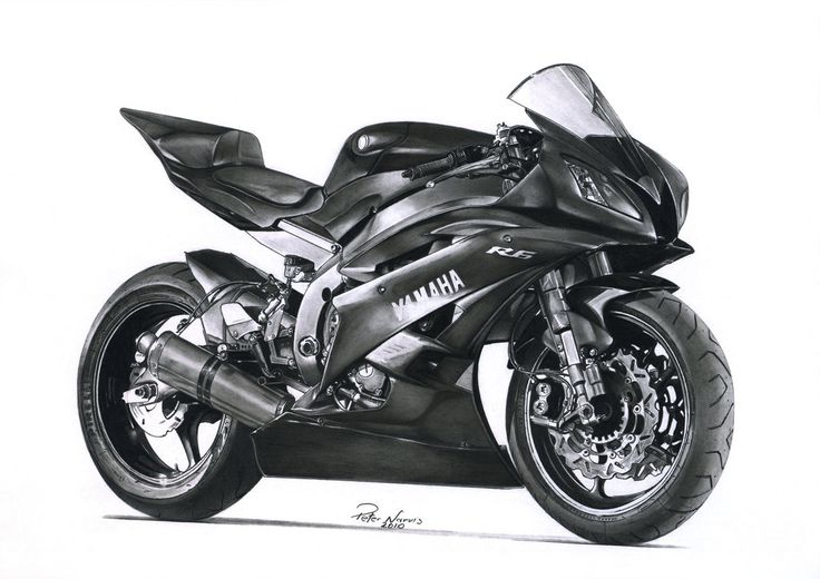 Yamaha R6 by narvis on DeviantArt