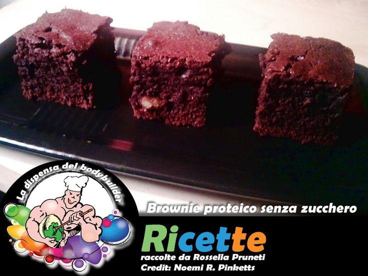 I miei brownies proteici per La Dispensa del BodyBuilder