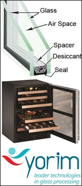 """to know about wine cooler glass we inform our benefits """"Heat insulation performance of IGU is the most ideal among all processing glass products availale on the market. Heat transfer coefficient U value can be effectively reduced by IGU. we can  inert gas,argon,helium is fillled in insulting glass to further reduce the heat tranfer coefficient.""""  sales@cammerkezi.com please send us email to get details of wine cooler glass"""