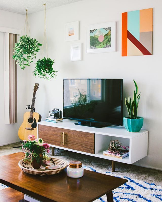 Over the moon and honored to have our home tour on @designsponge today!  Take. Tv Stand Ideas ...