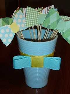Paige's Pearls: Bowtie Baby Shower