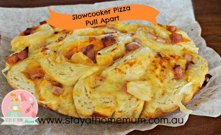 Slowcooker Pizza Pullapart | Stay at Home Mum