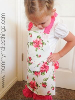 No-Sew Aprons for Kids | AllFreeSewing.com