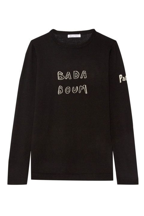 There aren't many women who wouldn't include a Bella Freud jumper on their Christmas list – we love this irreverent wording. Intarsia wool jumper, £280, Bella Freud at Net-A-Porter SEE MORE CHRISTMAS GIFT IDEAS FOR HER HERE