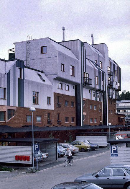 Malminkartano, Helsinki 1980, Ralph Erskine