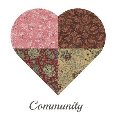 Yosonline Quiltstoffen / Quilt Fabrics - Community