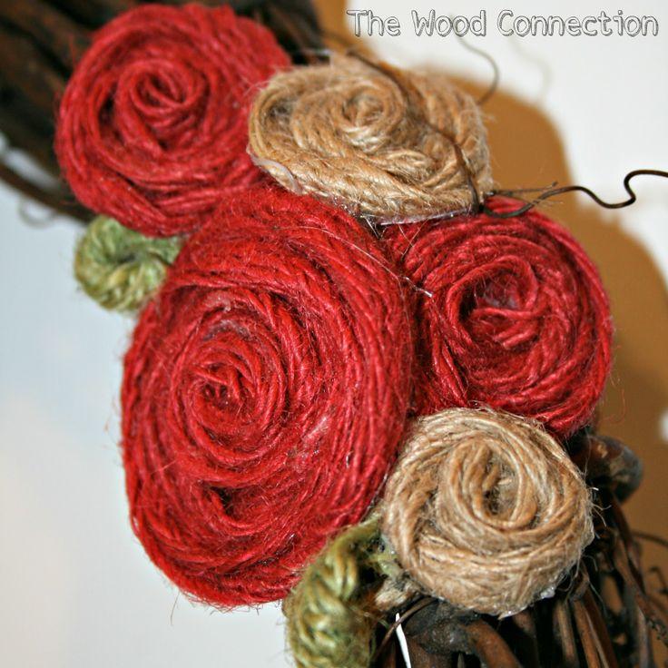 The Wood Connection: Burlap Flower Tutorial