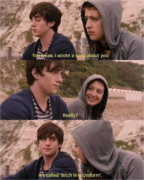 angus thongs and perfect snogging <3 One of the best movies ever..