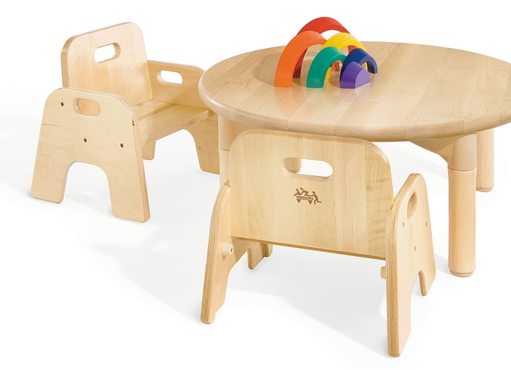 Community Playthings | Me-do-it chairs