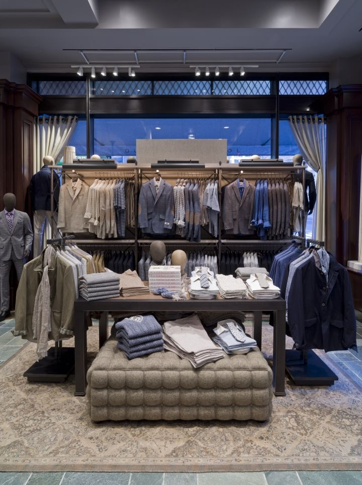 Joseph Abboud Flagship Store by Jeffrey Hutchison & Associates, New York City » Retail Design Blog