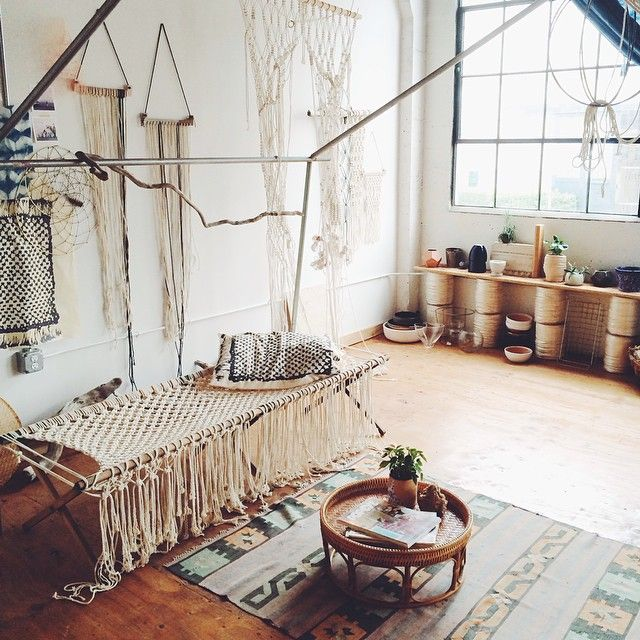 Tassels will also help hide clutter for extra storage