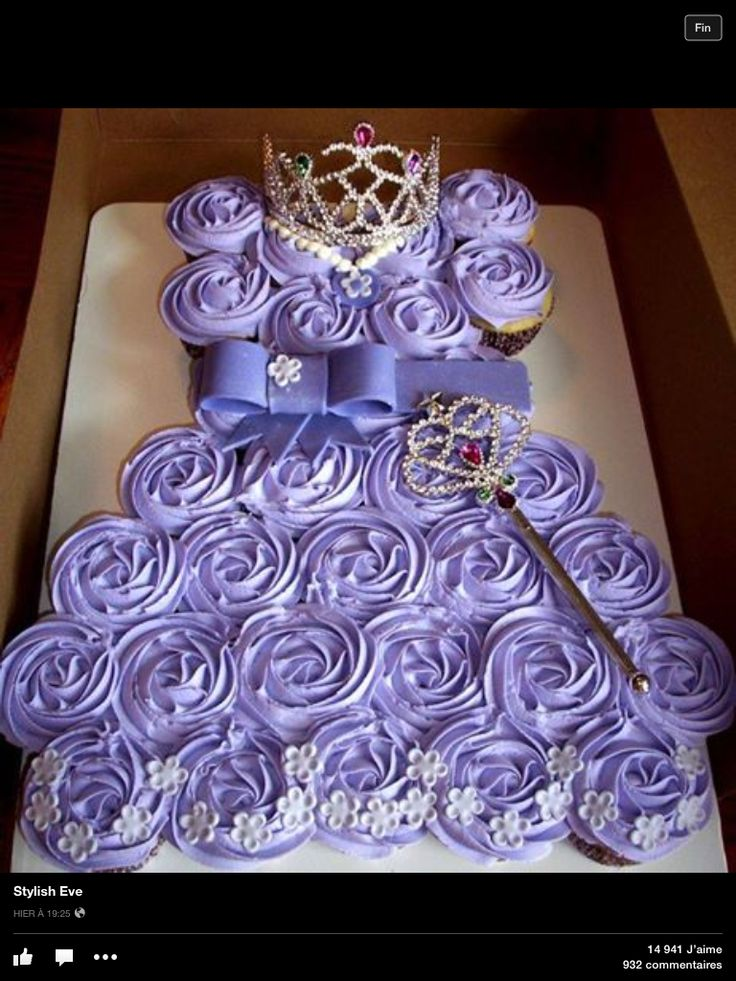 Robe De Princesse Cupcake Gateau Pinterest Robes And