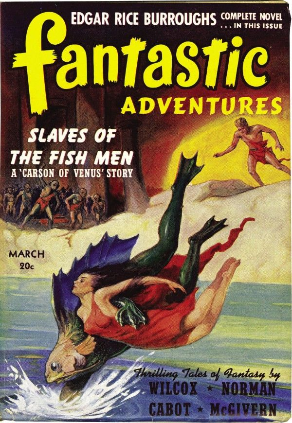 Science Fiction Covers From The Golden Age of Comics