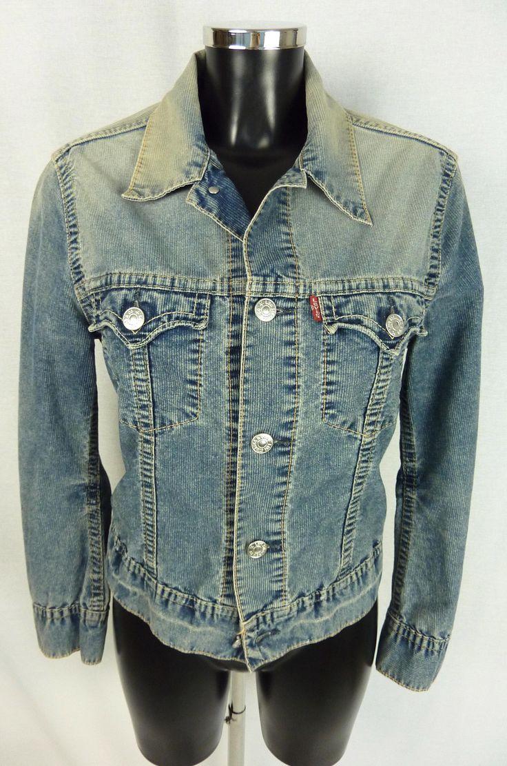Veste LEVI'S - Veste en jean - Veste Denim - LEVIS - Vintage denim - Veste en jean bleue - Veste en jean délavé - Veste Levis Taille M de la boutique TheNuLIFEshop sur Etsy